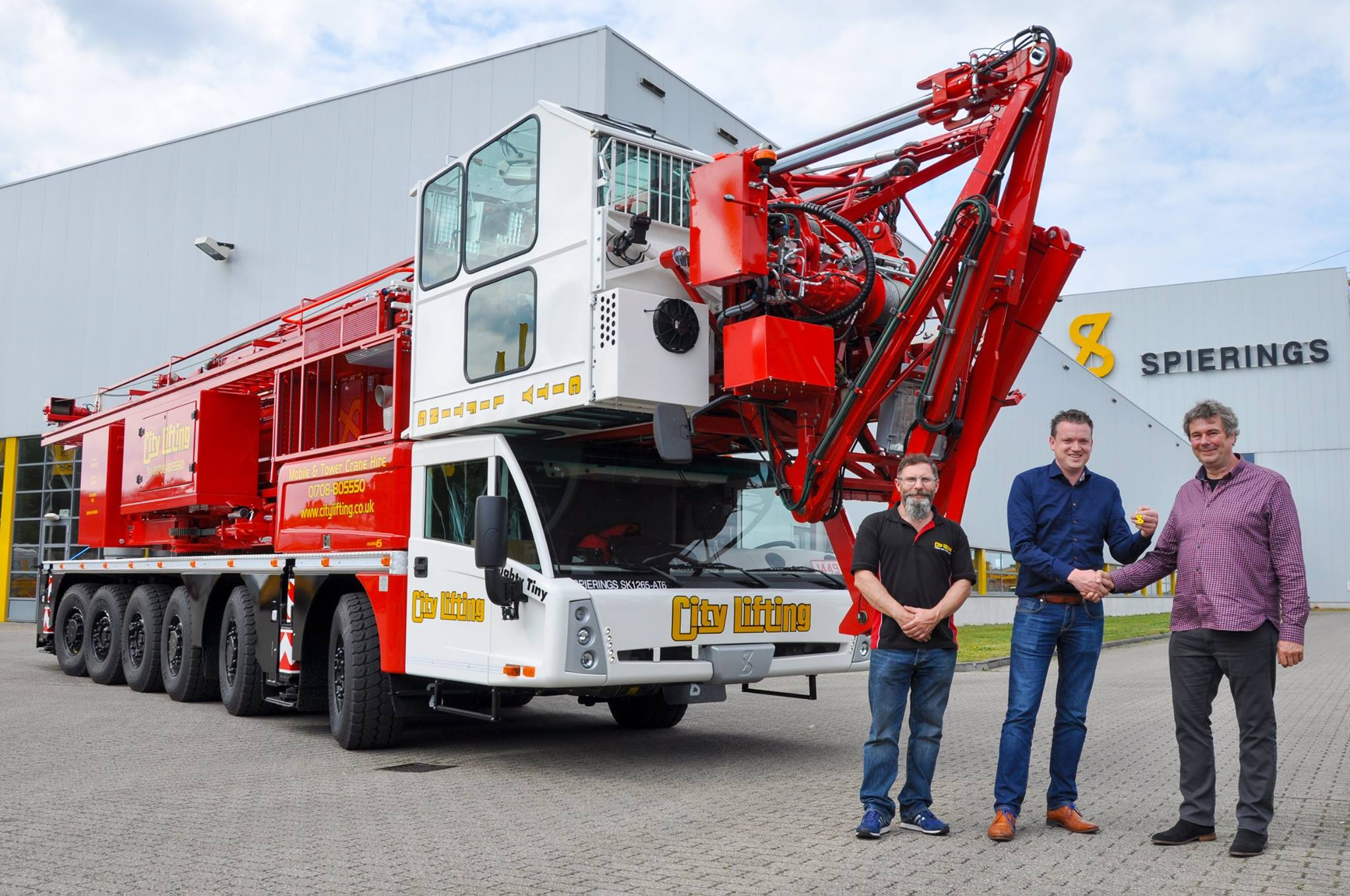 City Lifting - SK1265-AT6 - Spierings Mobile Cranes